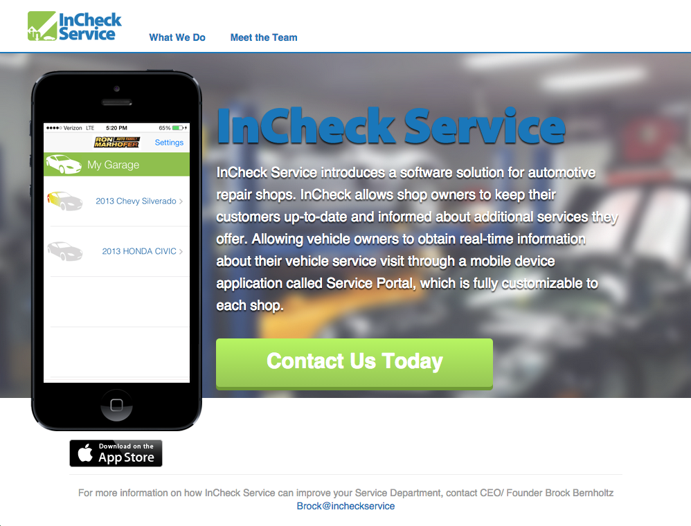 InCheck Service Preview Image 1